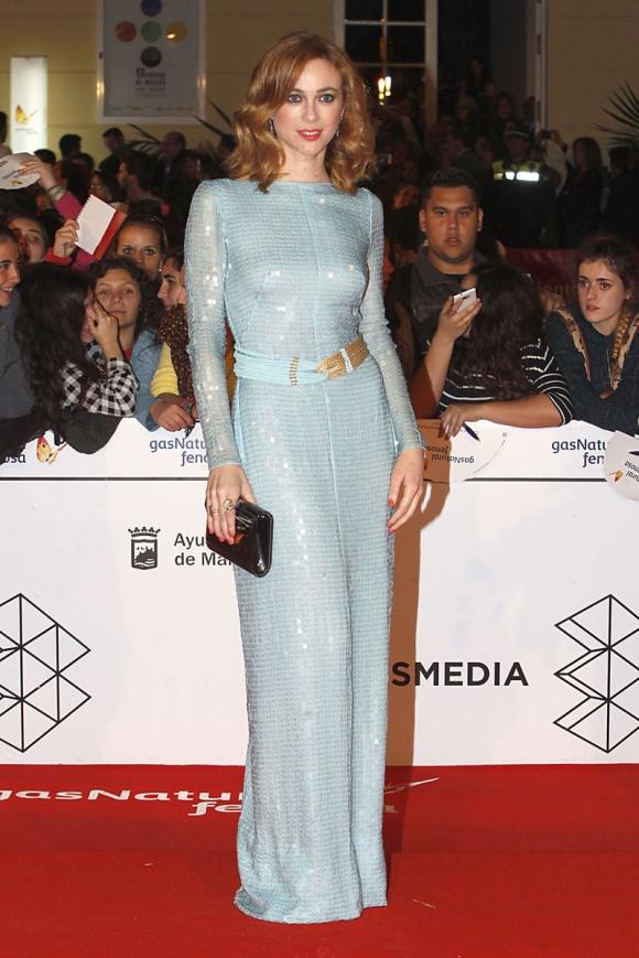 Marta Hazas, vestida de Jorge Vázquez