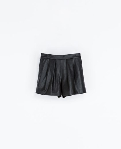 Bermuda Polipiel Zara 25,95€