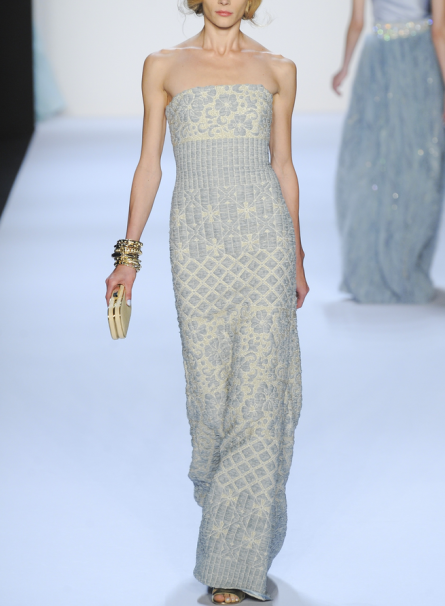 Badgley Mischka Spring 2014 rtw