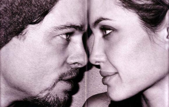 Brad y Angelina, por Mario Testino