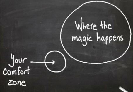 La magia no está en la zona de confort. Déjala atrás