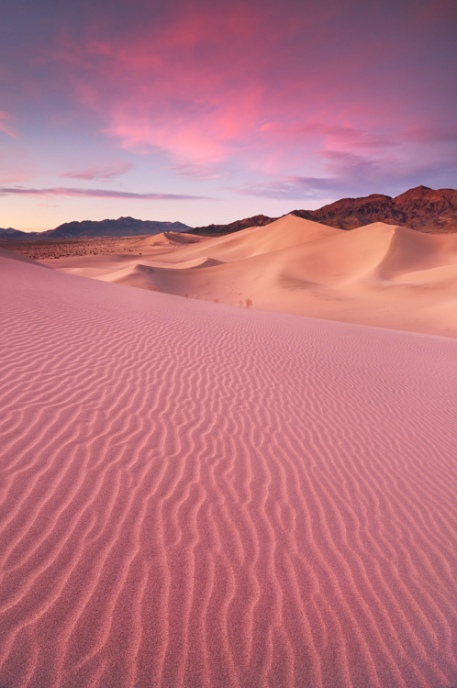 Desert Dream - Ibex Sand Dunes, Death Valley National Park