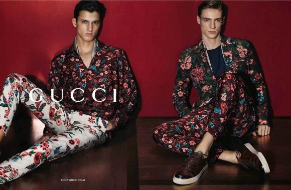 Campaña Gucci S/S 2014