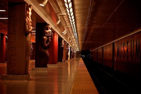 La enigmática Museum Station de Toronto, Canadá