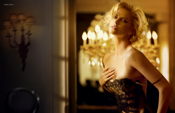 La belleza de Charlize Theron, fotografiada por Patrick Demarchelier