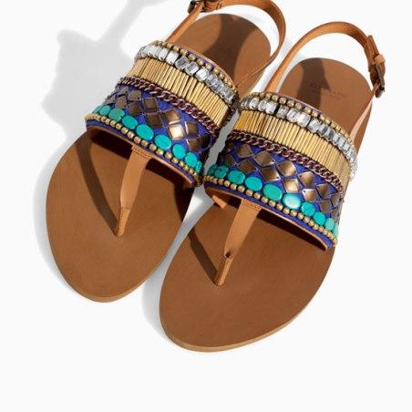 Sandalia Zara 29,95€