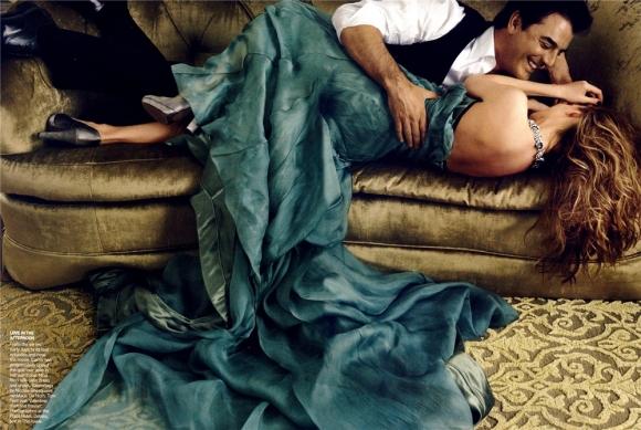 Annie Leibovitz nos mostró el lado más intimo de Carrie y Mr.Big