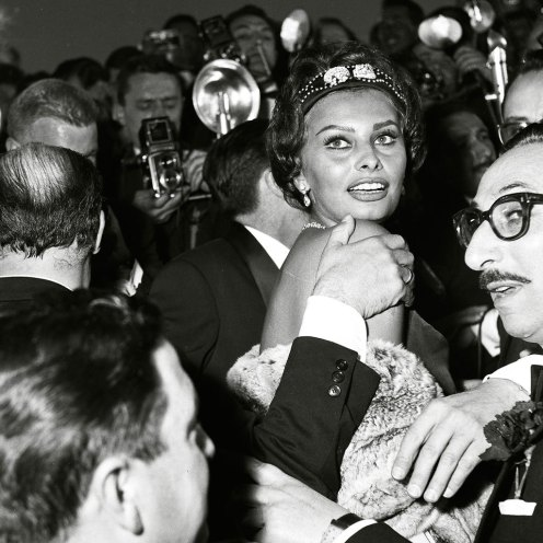 La sonrisa de la italiana iluminó Cannes en los años 60