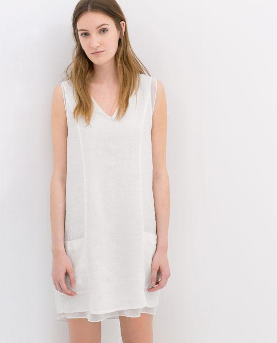 Vestido blanco 29,95€