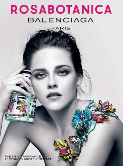 Kristen Stewart imagen del perfume de Balenciaga
