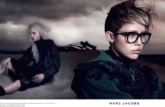 Marc Jacobs confió en Miley Cyrus para su campaña de Primavera 2014