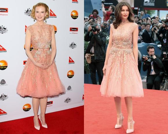 Nicole Kidman no vence a una dulce Laetitia Casta de Elie Saab