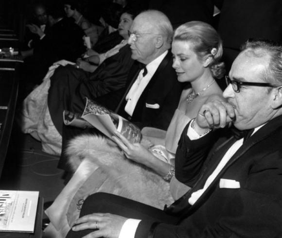 Grace Kelly en el Festival de Cannes