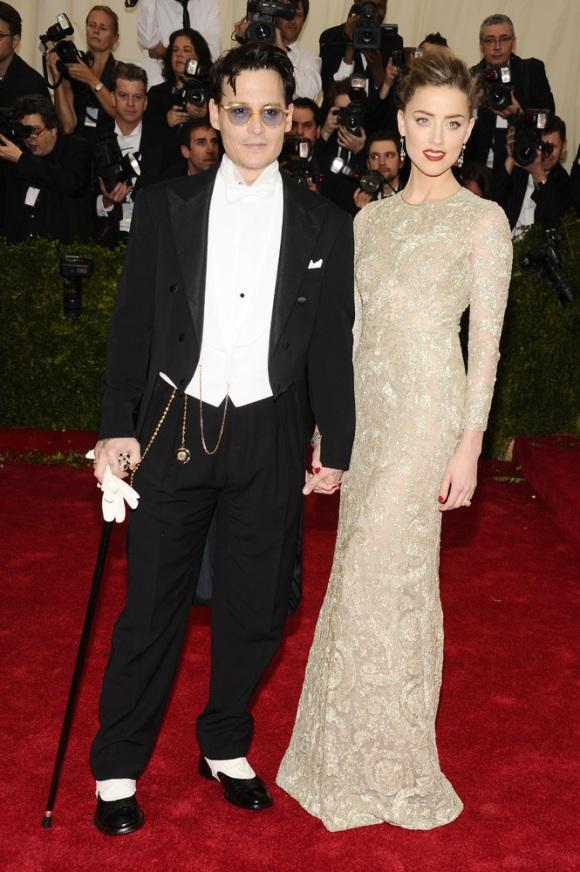 Johnny Deep y Amber Heard