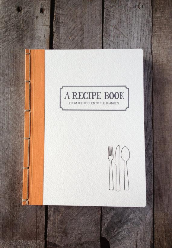 Libro en blanco para crear su propio recetario