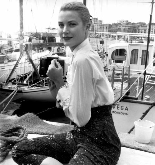 Grace Kelly en el Festival de Cannes de 1955