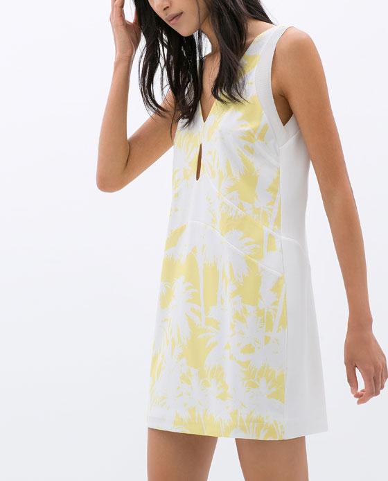 Vestido estampado 29,95€
