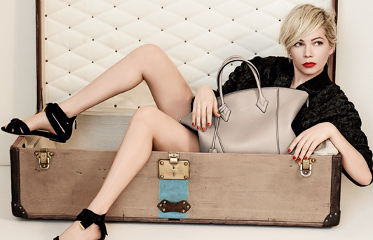 Michelle Williams protagonista de la campaña Primavera/Verano 2014 de Louis Vuitton