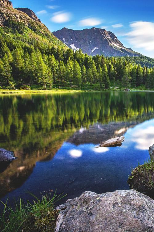 Lago di San Pellegrino, Italia