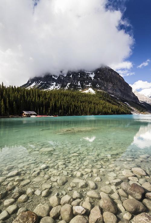 Lake Louise, Banff National Park , Alberta, Canada