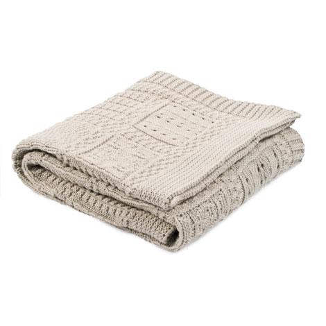 Manta de algodón para recién nacido. De Zara Home Kids, por 19,99€