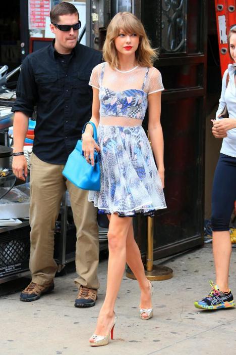 Taylor Swift en Nueva York