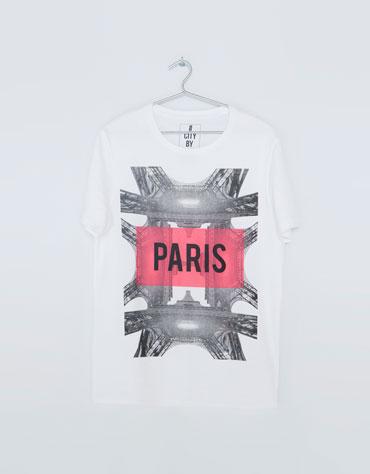 Camiseta de Bershka 9,99€