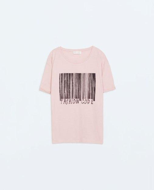 Camiseta de ZARA 7,95€