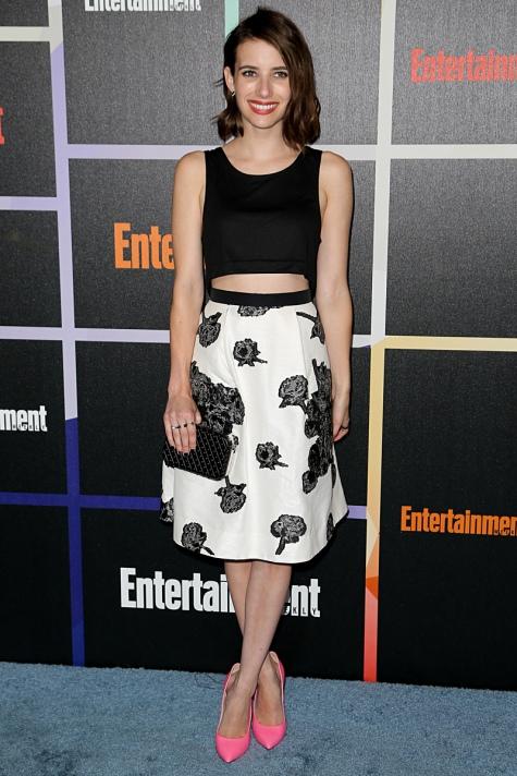 Emma Roberts en la Comic-Con