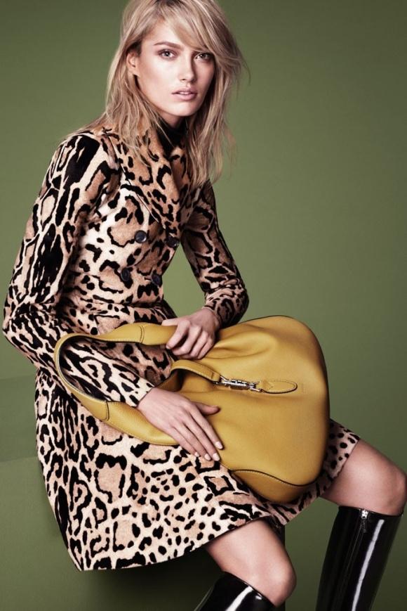 El estampado animal, o animal print, en este caso el leopardo se verá mucho este Otoño/Invierno