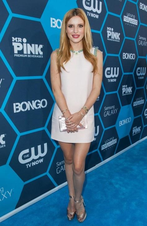 Bella Thorne en los Young Hollywood Awards