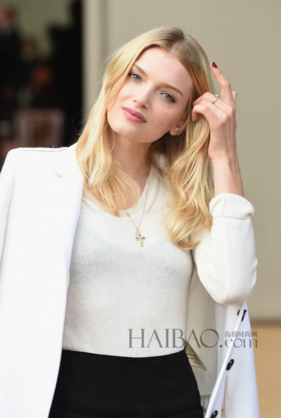 lily donaldson london fashion week