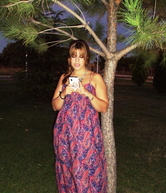 maxi vestido look