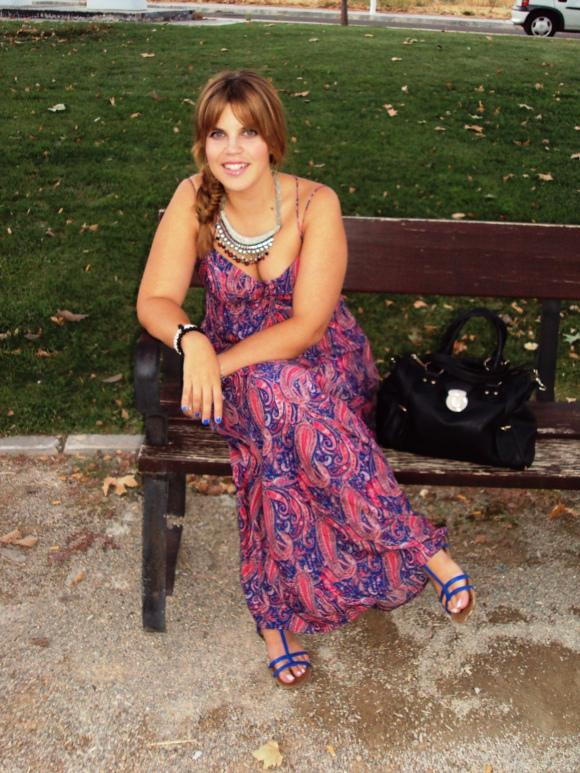 maxi dress look