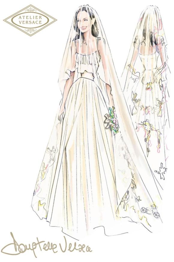 Vestido de Versace