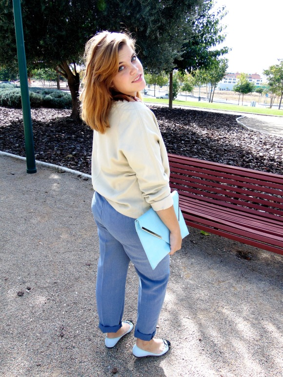 look octubre 2014 look otoño 2014 2015 outfit aire vintage blogger
