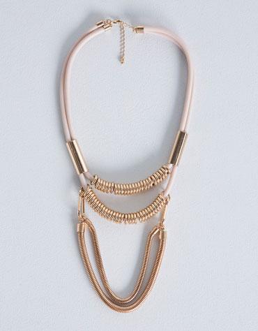 collar bershka outfit collar maxicollar otoño invierno 2014 2015