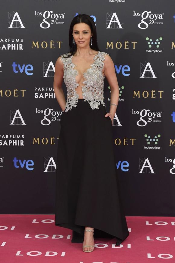Ana Álvarez  Álex Vidal premios goya 2015