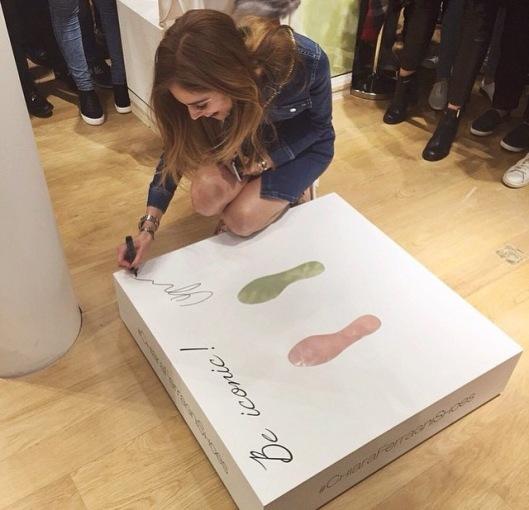 chiara ferragni collection pop store theblondesalad paris paris fashion week le bon marche