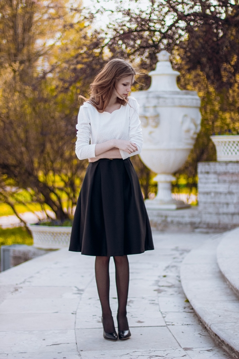 look lady outfit falda