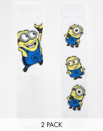 calcetines de los minions