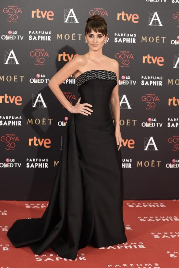 Penélope Cruz posa en los premios Goya 2016